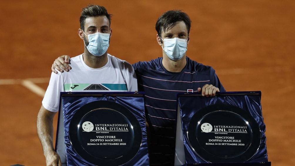 Horacio Zeballos competirá junto al catalán Marcel Granollers.