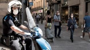 Se eleva la curva de contagios diarios en España