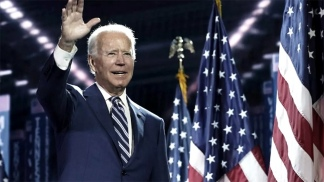Biden, el candidato demócrata, que busca ser nuevo presidente de los EEUU