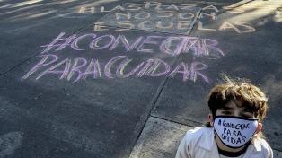 Veinte centros de estudiantes porteños rechazan el protocolo de clases presenciales