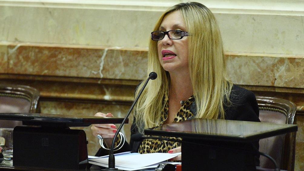 La senadora Sacnun de Santa Fe dijo que hay que identificar a los responsables