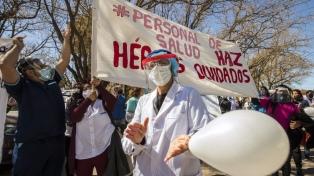 Chubut: pese al Covid-19, los trabajadores de la Salud paran por atraso en el pago de salarios