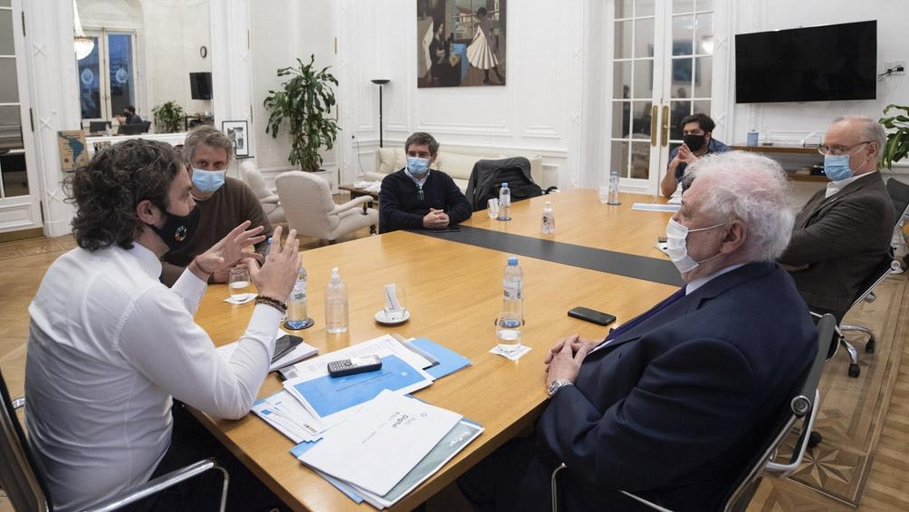 El encuentro se llevó a cabo en la Casa Rosada