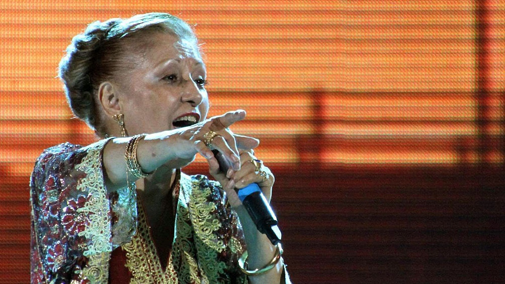 El ambiente musical, cultural y político de la provincia se  despidió de Ramona Galarza.