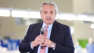 """""""Hay que esperar, porque este no es el momento de salir a la calle"""", dijo el presidente Alberto Fernández."""