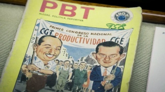 La tapa de la revista PBT