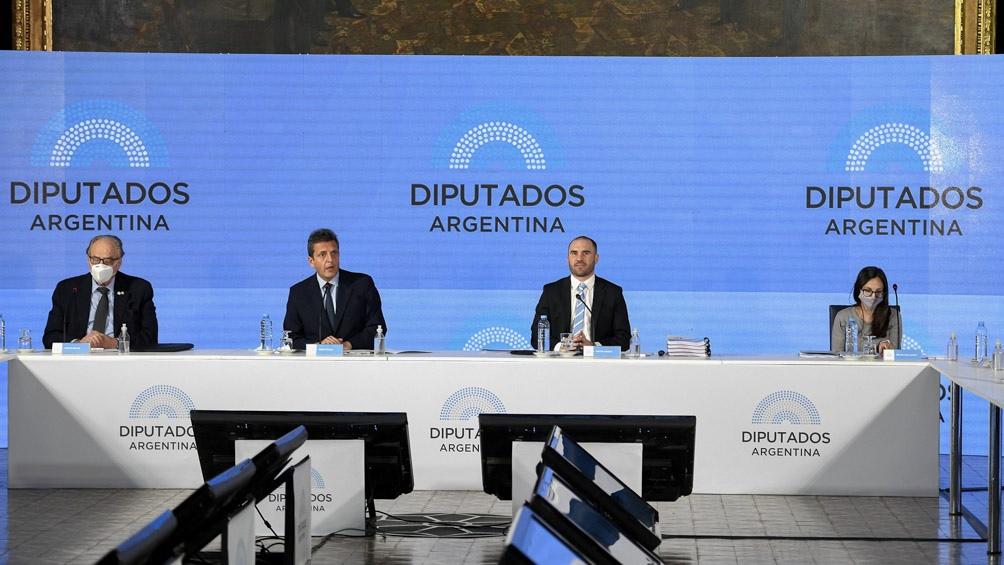 Martín Guzmán se reunirá la semana próxima con los jefes de bloques legislativos de la Cámara de Diputados.