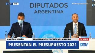 """Massa: """"El presupuesto debe dar certezas y garantías de previsibilidad"""""""
