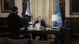 Fernández dijo que negociará con el FMI sin poner en riesgo la reactivación económica