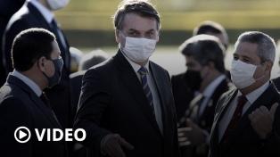 """Bolsonaro denunció una """"brutal campaña"""" de desinformación por los incendios en la Amazonía"""