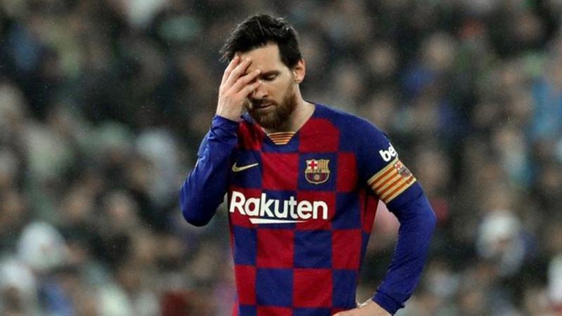Barcelona busca rebajar la sanción a Messi tras la expulsión en la Supercopa - Télam - Agencia Nacional de Noticias