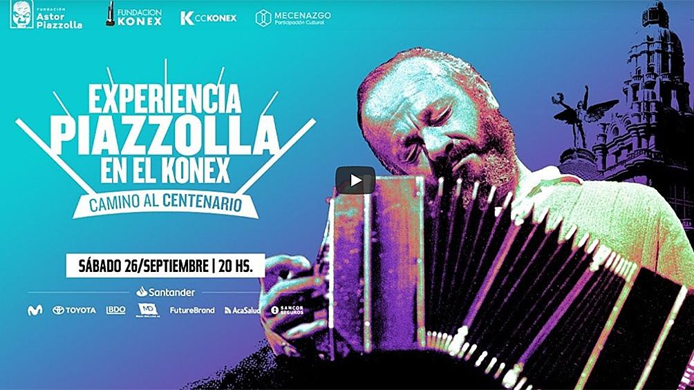El encuentro será transmitido a través del canal de YouTube de CCKonex y por el sitio web experienciapiazzolla.com.