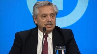 """Fernández: Algunas acciones """"muy extremas e irracionales"""" son formas de """"maltrato a la democracia"""""""