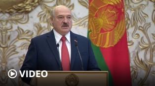 En secreto, el presidente bielorruso asumió su sexto mandato en medio de la crisis