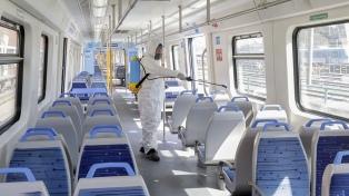 Un nuevo sanitizante, producido en Argentina, se aplicará en el transporte público