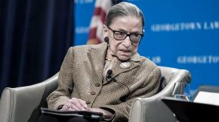 EEUU despide a la jueza Ginsburg y se prepara para una pugna por su reemplazo