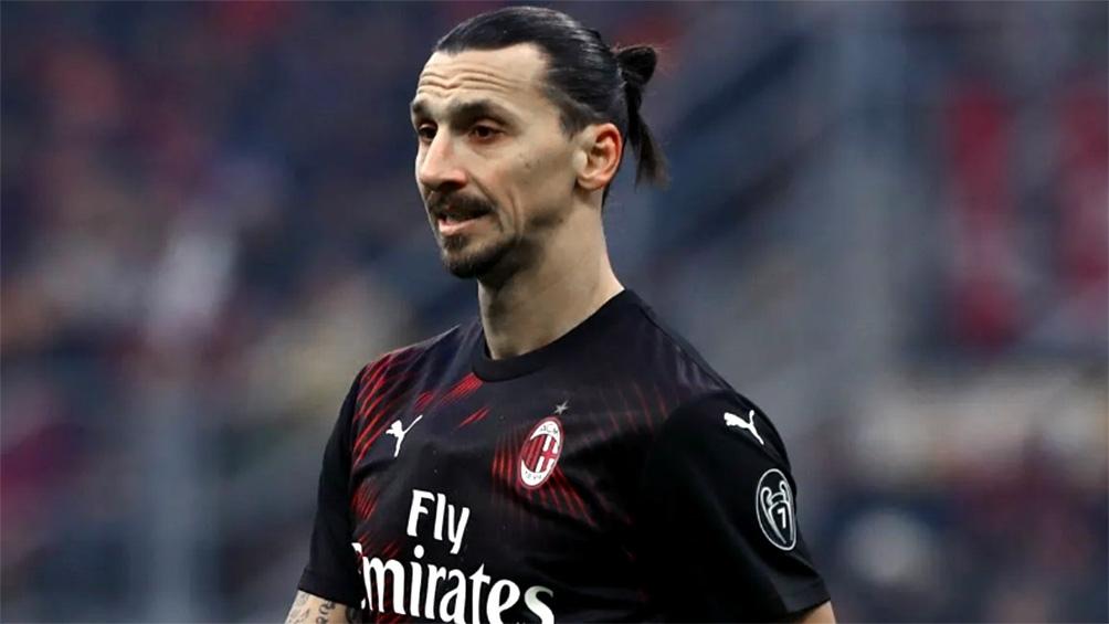 Ibrahimovic es figura del Milan