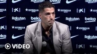 Luis Suárez fue citado por Simeone para debutar mañana en el Aleti