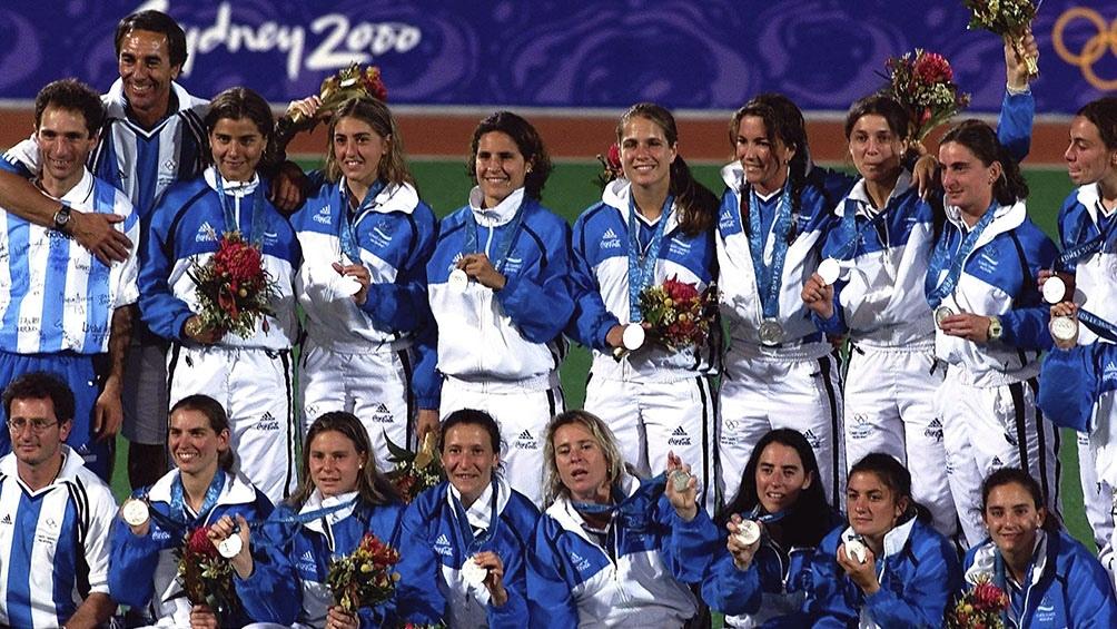 El equipo medalla de oro en Sidnaey