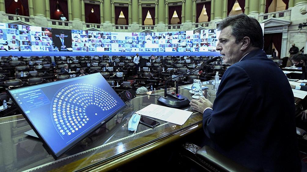 Con la realización de esta sesión, la Cámara baja retomó su labor tras el acuerdo al que arribaron los presidentes de bloque el pasado martes 8,
