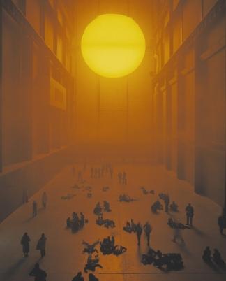 The Unilever Series 2003: Olafur Eliasson: The weather project - Photo: Tate Photography © Olafur Eliasson
