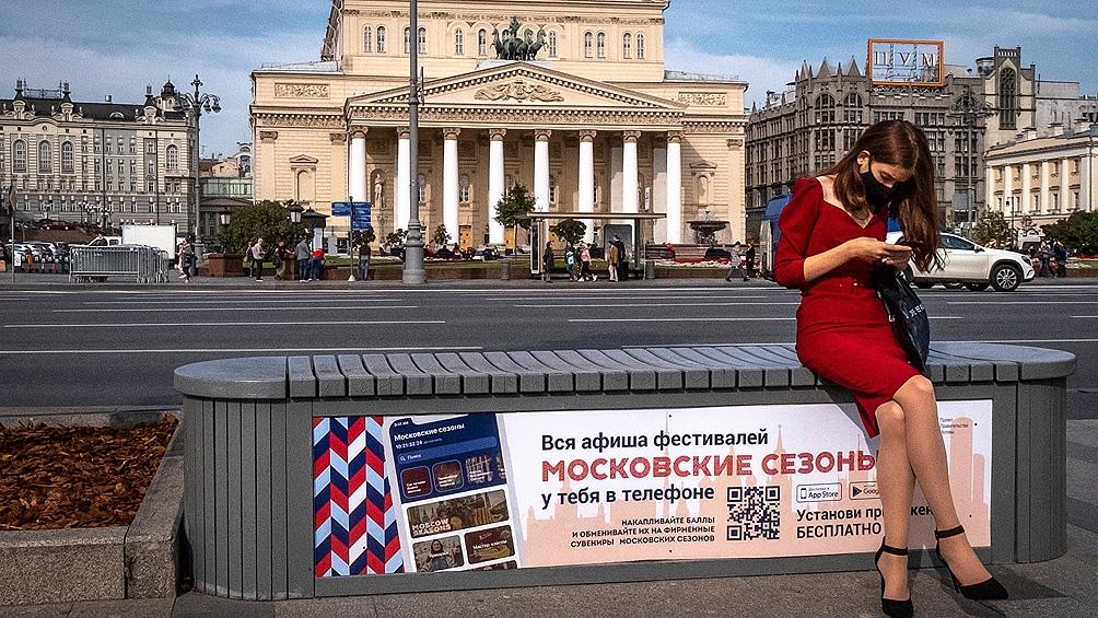 Moscú es el epicentro de los contagios de coronavirus