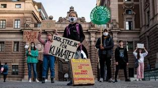 Miles de jóvenes marcharon en el mundo contra el cambio climático