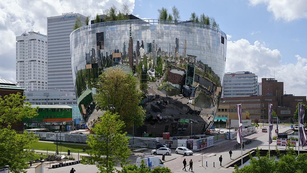 Diseñado por Mvrdv, el edificio de 15.000 metros cuadrados y 35 metros de alto se ubica en el Museumpark.