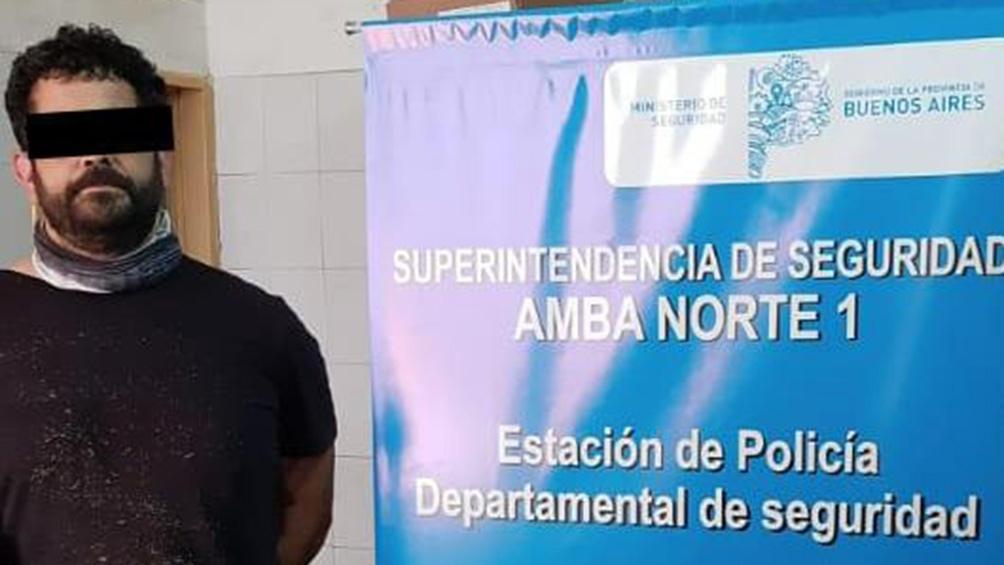 Hernán Saptié en noviembre de 2005 había sido condenado a 9 años de prisión culpable de dos secuestros.