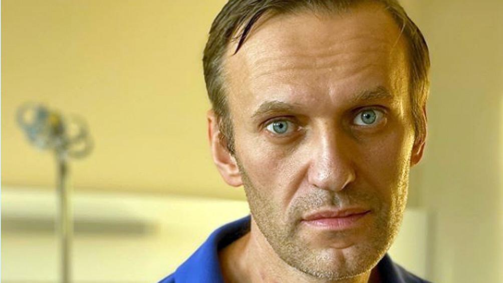 El líder opositor Alexey Navalny