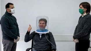 Siete provincias usan cascos de oxígeno para evitar que pacientes con Covid-19 necesiten respirador