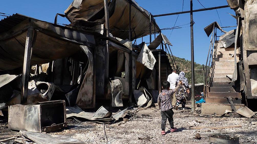 Los solicitantes de asilo, que escapan de la violencia y conflictos armados principalmente desde Afganistán, Siria o Irán.