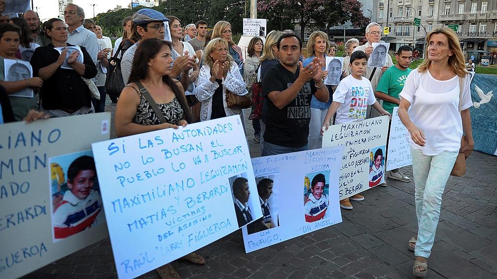 Berardi tenía 16 años cuando fue secuestrado al bajar de una combi para regresar a su casa en Escobar.