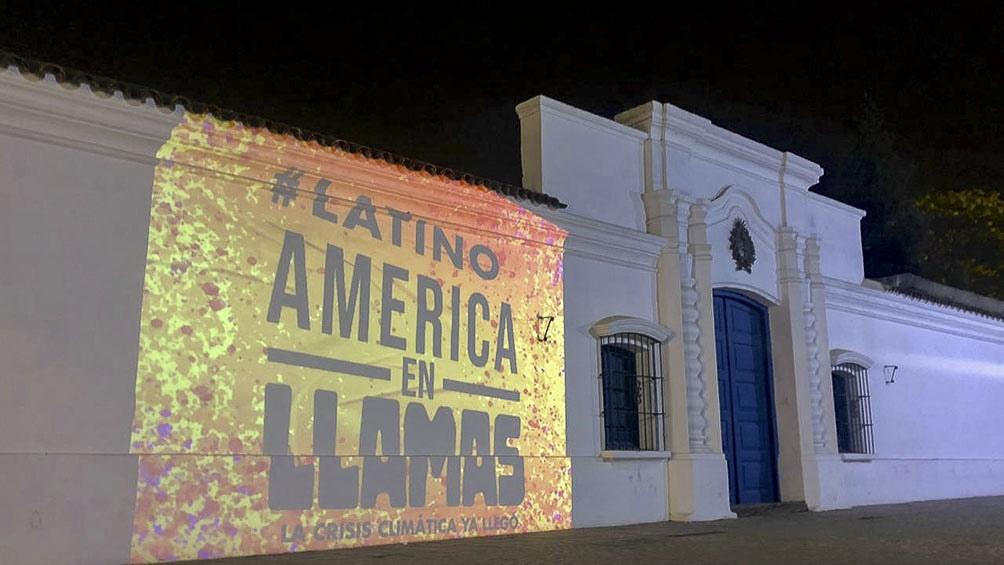 Imágenes en América latina hicieron referencia a los crecientes focos de incendio registrados en las últimas semanas.