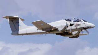 """El """"Pucará"""" vuelve a volar como plataforma de vigilancia aérea"""