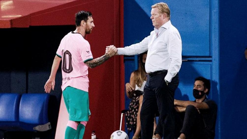 El técnico holandés debuta hoy frente al Villarreal, en la tercera fecha del fútbol español.