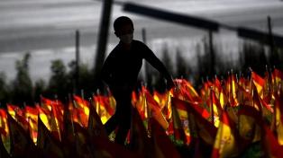 Cientos de personas salen a la calle en Madrid contra el confinamiento parcial