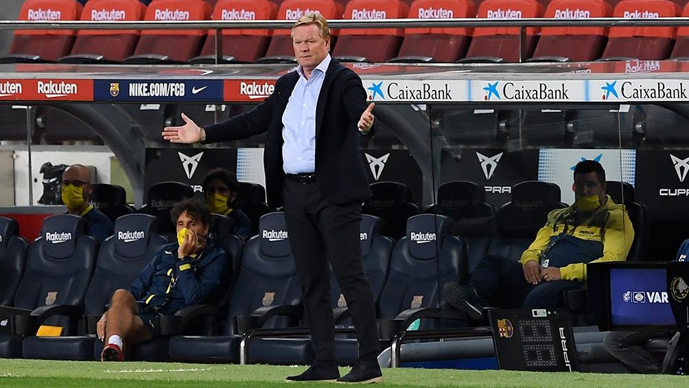 Koeman, entrenador del Barcelona