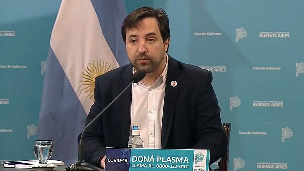 """Kreplak: """"Que nuestra aerolínea de bandera traiga las primeras dosis es un  enorme orgullo"""" - Télam - Agencia Nacional de Noticias"""
