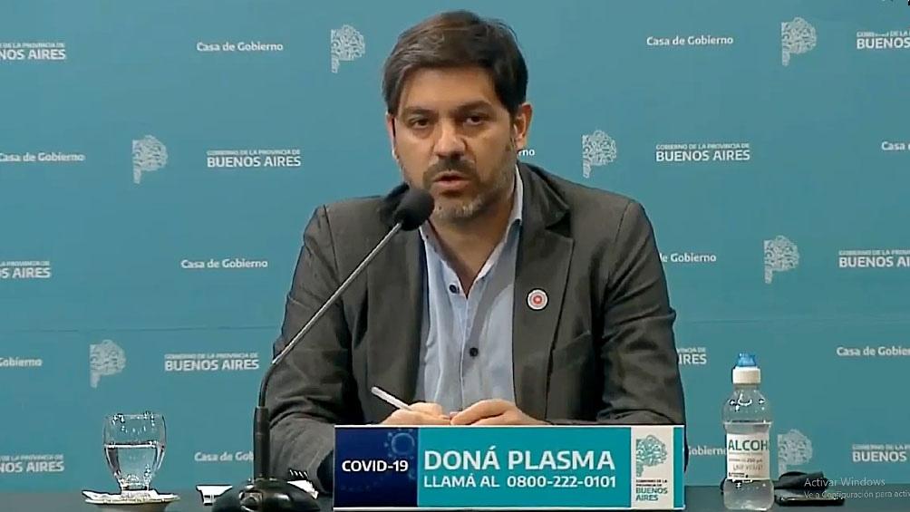 Bianco dijo que por cuarta semana consecutiva se registra una caída de casos en el AMBA.