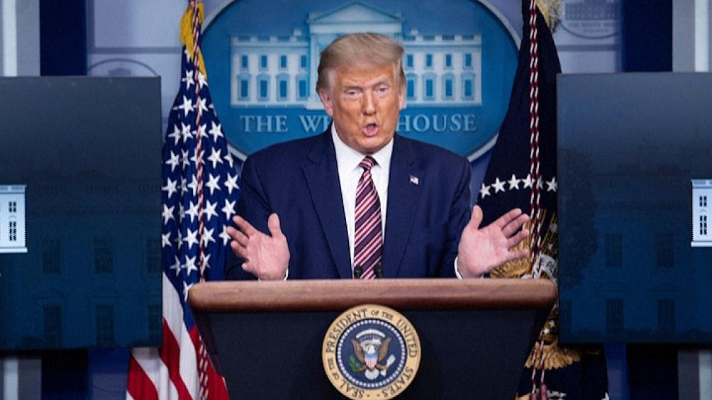 """Trump cuestionó a los medios """"falsos"""" por dar más importancia de lo razonable a estos ataques"""