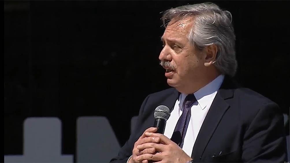 Fenández se solidarizó con el juez de la Corte Suprema Ricardo Lorenzetti por el escrache que sufrió en su casa.