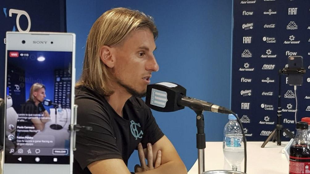 El plantel conducido por el entrenador Sebastián Beccacece volverá a entrenarse el martes en la cancha auxiliar del Cilindro de Avellaneda.