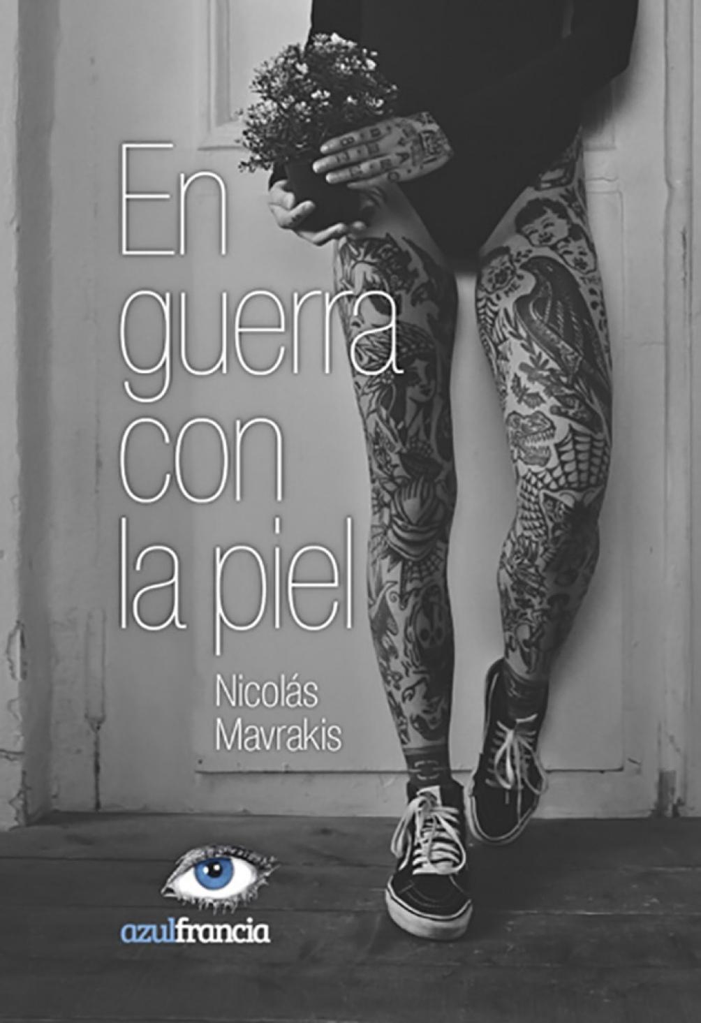 """La portada del nuevo libro """"En guerra con la piel""""."""
