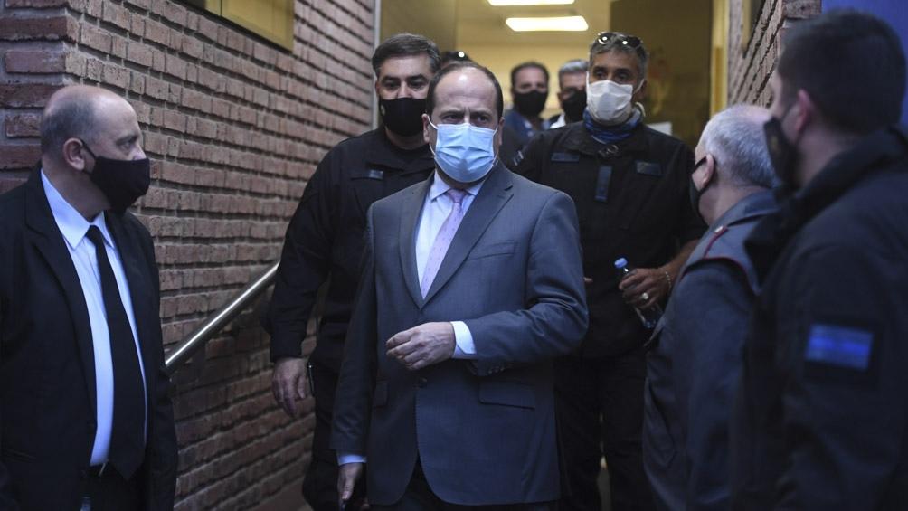 El Secretario de Seguridad y Política Criminal, Eduardo Alfredo Villalba, se hizo presente en Palermo