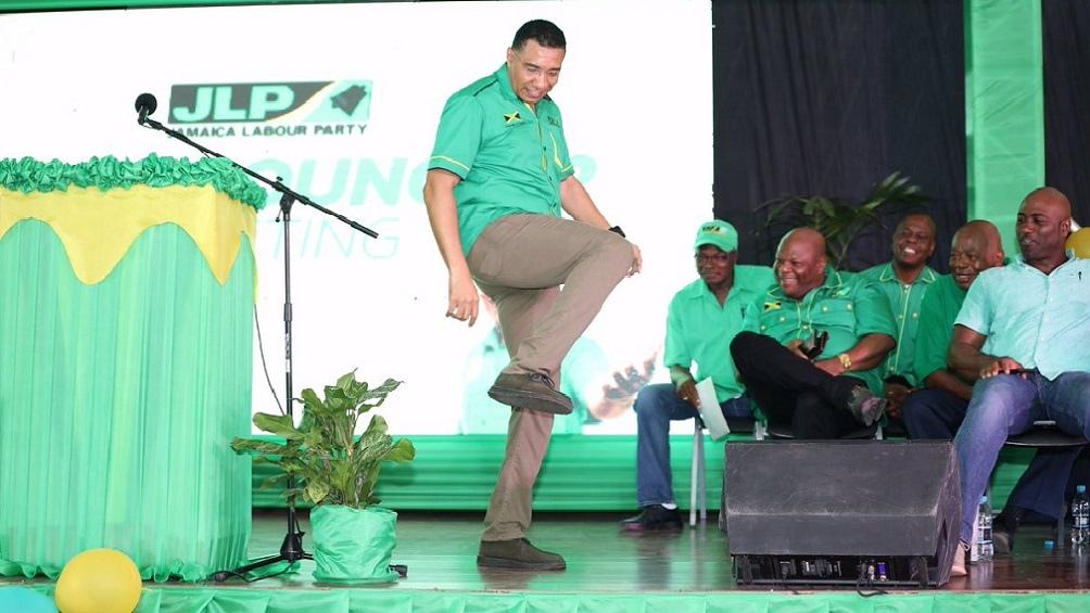 El primer ministro de Jamaica, Andew Holness, espera ganar comodamente esta vez