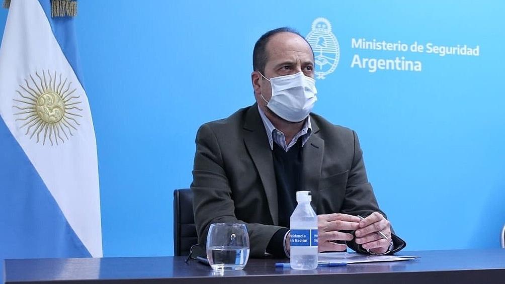 Eduardo Villalba, secretario de Seguridad.