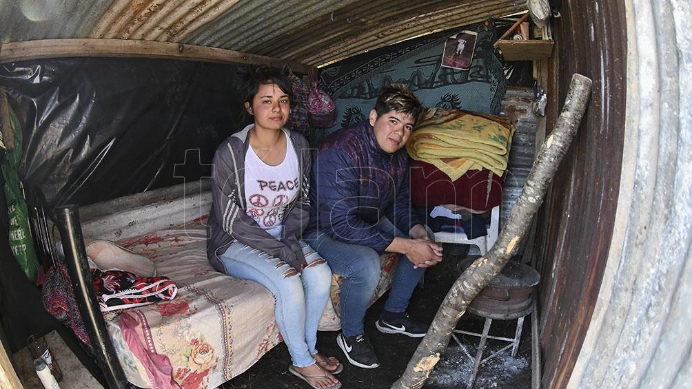 Las organizaciones piden que el gobierno construya viviendas para paliar la situación.
