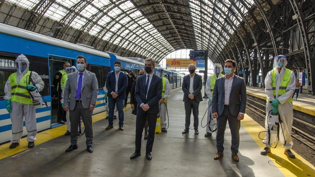 La operación supervisada por Mario Meoni, ministro de Transporte y Lisandro Bonelli, jefe de Gabinete de Salud