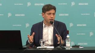 Kicillof ratificó clases presenciales en 24 municipios bonaerenses